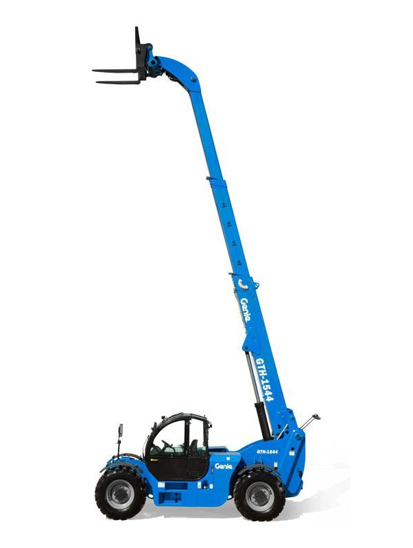 Genie extra long forklift